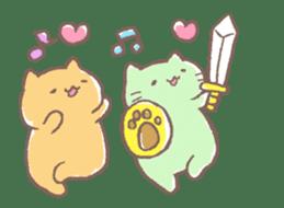 Animated Mitchiri-Neko Stickers sticker #12279757