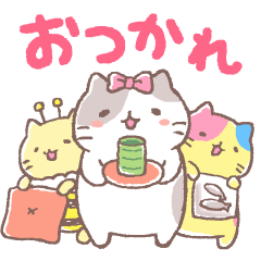 Animated Mitchiri-Neko Stickers