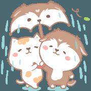 สติ๊กเกอร์ไลน์ Bepo & Coco : What is love collection