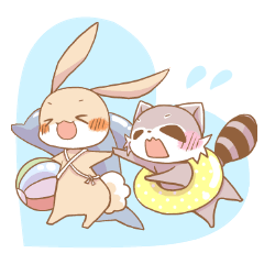 LOVE!Raccoons&Rabbit4