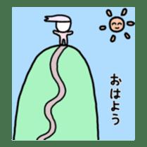 Human hair of lilac sticker #12282164
