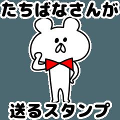 Sticker Tachibana-san send