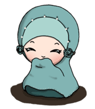 Derina DeHIJAB sticker #12287631