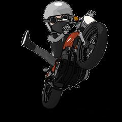 Ride naked bike animation