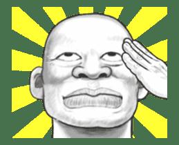 movement! Human skin head (For overseas) sticker #12306056