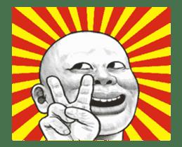 movement! Human skin head (For overseas) sticker #12306061
