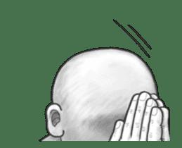 movement! Human skin head (For overseas) sticker #12306068