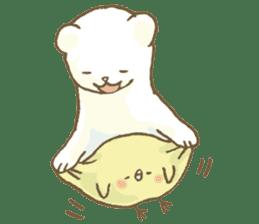 BELLE the WEASEL & Melted Bird MOLT sticker #12306372