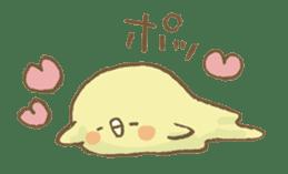 BELLE the WEASEL & Melted Bird MOLT sticker #12306383