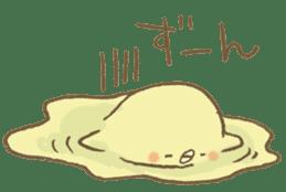 BELLE the WEASEL & Melted Bird MOLT sticker #12306394