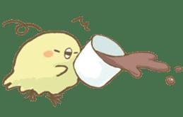 BELLE the WEASEL & Melted Bird MOLT sticker #12306405
