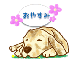 animation stickers for doggie fans! sticker #12309162