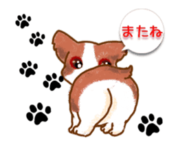 animation stickers for doggie fans! sticker #12309165