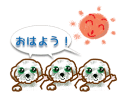 animation stickers for doggie fans! sticker #12309172