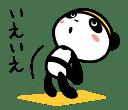 Daily life's loose stretch panda sticker #12312524