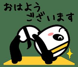 Daily life's loose stretch panda sticker #12312549