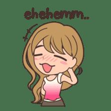 Gorgeous Girl Chibi Version sticker #12312681