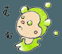 (j)Cute monkey, Sarumu sticker #12319946