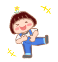 Fat Girl Deburin 3 animation sticker #12324790
