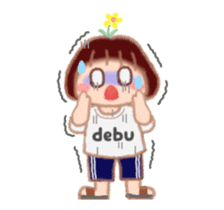 Fat Girl Deburin 3 animation sticker #12324801