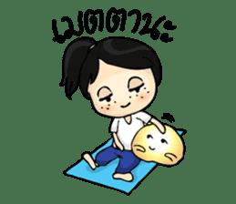 Yoga Mind Development sticker #12333081