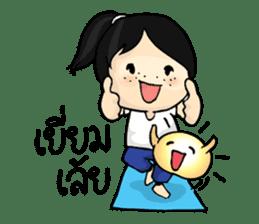 Yoga Mind Development sticker #12333093