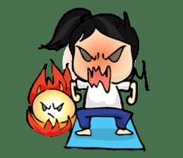 Yoga Mind Development sticker #12333101