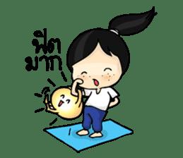Yoga Mind Development sticker #12333103