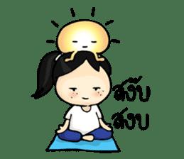 Yoga Mind Development sticker #12333107