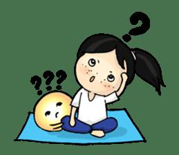 Yoga Mind Development sticker #12333110