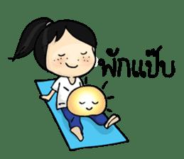 Yoga Mind Development sticker #12333114