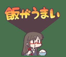 Reaction Girl! -Autumn ver.- sticker #12334006