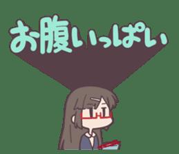 Reaction Girl! -Autumn ver.- sticker #12334008