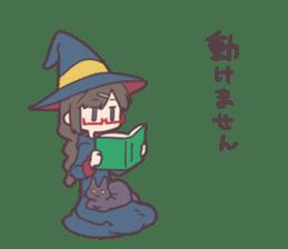 Reaction Girl! -Autumn ver.- sticker #12334024