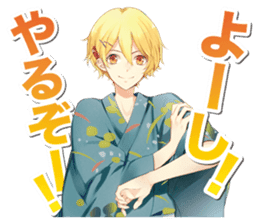 """TSUKIUTA."" meigen stickers sticker #12334718"