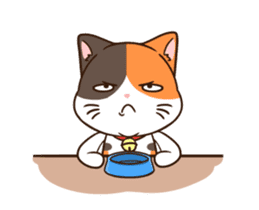 Fat cat DukDik + sticker #12339638