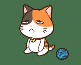 Fat cat DukDik + sticker #12339639