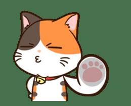 Fat cat DukDik + sticker #12339644