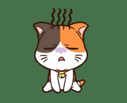Fat cat DukDik + sticker #12339650