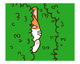 Fat cat DukDik + sticker #12339651
