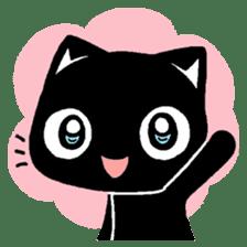 mew mew blacky 5 sticker #12347967
