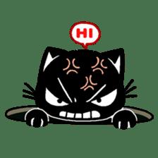 mew mew blacky 5 sticker #12347978