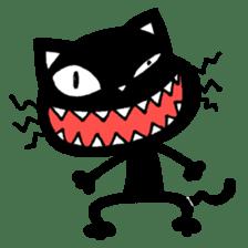 mew mew blacky 5 sticker #12347990