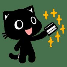 mew mew blacky 5 sticker #12347995