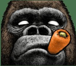Gorilla gorilla 3 sticker #12354137