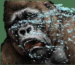Gorilla gorilla 3 sticker #12354147
