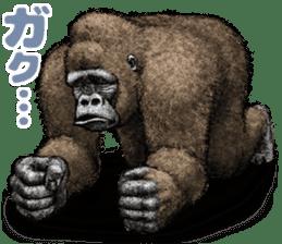 Gorilla gorilla 3 sticker #12354148