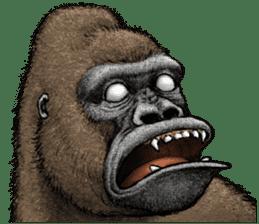 Gorilla gorilla 3 sticker #12354159
