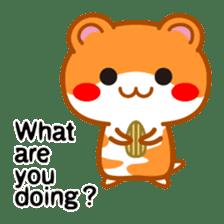 PokePoke Hamster sticker #12364182