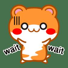 PokePoke Hamster sticker #12364196